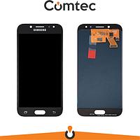 Дисплей для Samsung J530F Galaxy J5 (2017) с тачскрином (Модуль) черный, OLED