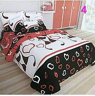 Комплект постельного белья для девочки котики наволочки 50*70. Подростковый комплект