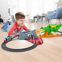 Моторизированная железная дорога Томас и друзья Побег дракона серия Track Master Fisher-Price Thomas
