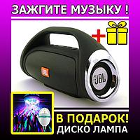 JBL Boombox mini 8W copy, k836 889 Bluetooth колонка с FM MP3, черная.   AG320046