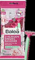 Balea одноразовые бритвы с 2 лезвиями 5 шт.