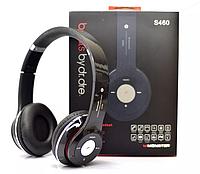 Беспроводные Bluetooth наушники S460 аналог beats solo2, чёрные наушники