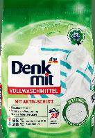 Denk Mit порошок для стирки белого белья Vollwaschmittel 1.35кг /20 стирок/