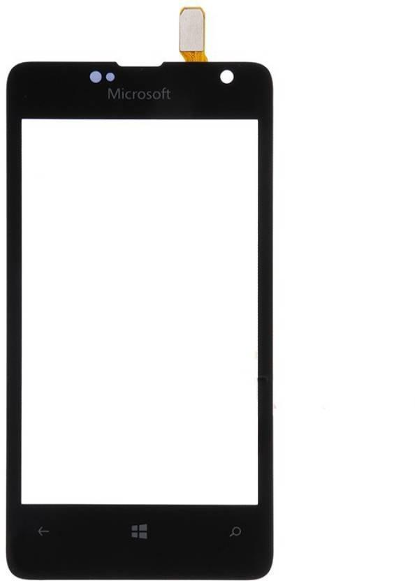 Тачскрин для Microsoft 430 Lumia Dual Sim (RM-1099), черный