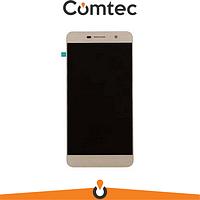 Дисплей для Huawei Y6 Pro (TIT-U02/TIT-AL00)/Enjoy 5/Honor Play 5X с тачскрином (Модуль) золотистый, оригинал