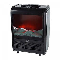 Электрический камин-обогреватель с эффектом живого огня 1500 Вт Черный (46-905928852)