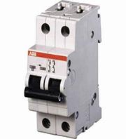 """Автоматичні вимикачі """"АВВ"""" S 202-63A/2полюса (Хар-ка C)"""