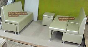 Диван Престиж з ящиком + спальним місцем 1200х500х900мм