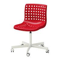 СКОЛБЕРГ / СПОРРЕН Рабочий стул, красный, белый