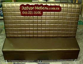 """Диваны для пиццерии """"Кубик"""" (Высокая спинка)160х60х130см"""