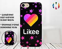 Силиконовый чехол для Apple Iphone 6 plus_6s plus Likee (Лайк) (4005-3315)