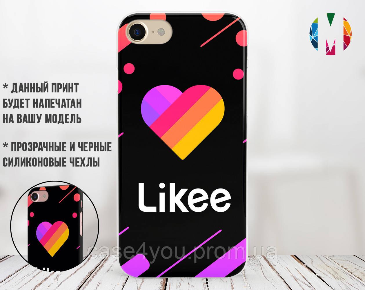 Силиконовый чехол для Apple Iphone 6 plus_6s plus Likee (Лайк) (4005-3316)