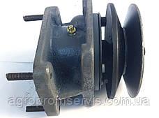 Шкив насоса НШ-10 привод  шкив 130 мм.ременной передачи мотоблока, фото 2