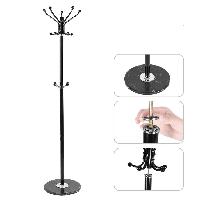 Вешалка (стойка) для одежды напольная металлическая 170см Stenson (R17387)