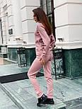 Женский вязаный женский брючный костюм с джемпером vN5709, фото 4