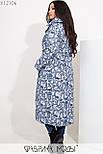 (52-54) Зимний теплый длинный пуховик 52 размера vN5731, фото 3