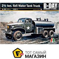 Модель 1:35 военная - Italeri - Американский грузовик 2.5 ton. 6x6 Water Tank Truck (IT0201) пластмасса