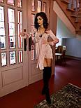 Асимметричное атсалное платье с длинным рукавом и верхом на завязке vN5844, фото 9