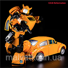 Трансформер Бамблби 19 см из м\с Мастерпис - Bumblebee MP21, Masterpiece, Kubianbao