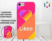 Силиконовый чехол для Apple Iphone X Likee (Лайк) (4021-3326)