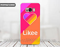 Силиконовый чехол для Samsung J415 Galaxy J4 Plus Likee (Лайк) (28227-3326), фото 2