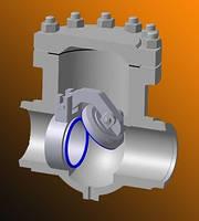 Клапаны обратные DN 150— 300мм, PN 6,3-10,0 МПа (63-100 кгс/см²).