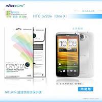 Защитная пленка Nillkin Crystal для HTC One X / S720e (глянцевая)