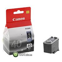 Картридж Canon струйный, PG-40Bk для Canon PIXMA iP1800/PixmaIP1700/PixmaIP2500 iP1600/ 2200, MP150/ 170/ 450, Fax JX200/ 500