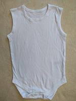 Бодік для дівчинки 068 см (3-6 months) білий короткий рукав Primark 55398