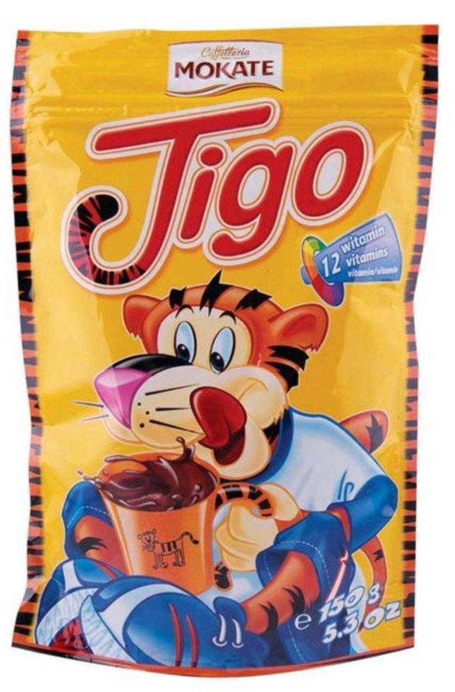 Какао растворимый МОКАТЕ Tigo с витаминами 150 г