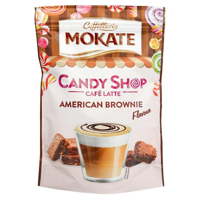Капучино Mokate Caffetteria Candy Shop Cafe Latte American Brownie 110 г