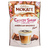 Капучино Mokate Caffetteria Candy Shop Cafe Latte American Brownie 110 г, фото 1