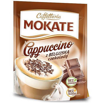 Капучино Mokate Сaffetteria Belgian Chocolate 110 г