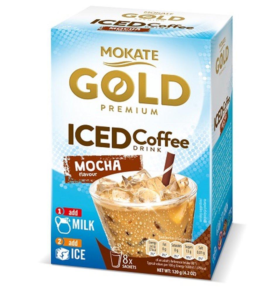 Кофейный напиток Iced Coffee Mocha 15 г х 8 шт