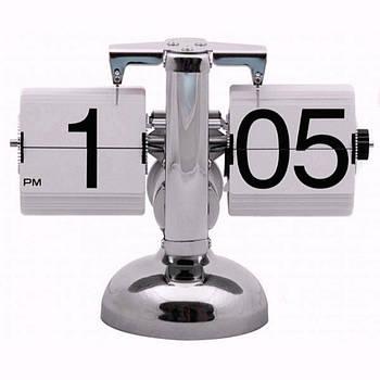 Перекидні годинник Flip Clock Білі