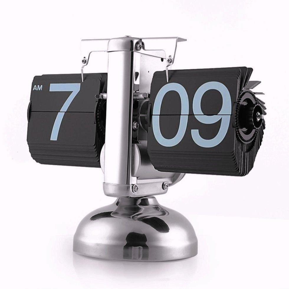Перекидные часы Flip Clock Черные