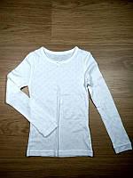 Кофта для дівчинки 122 см (6-7 years) білий для сну Primark 43730