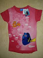 Футболка для дівчинки 128 см (7-8 years) рожевий рибки Disney 44906