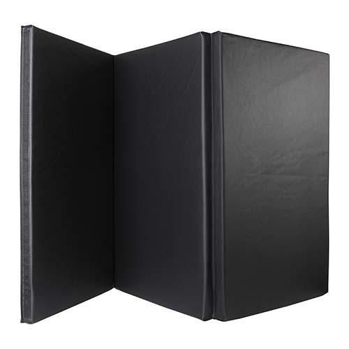 Мат (складной из 3-х частей ) 180*90*4см, черный, Celsius