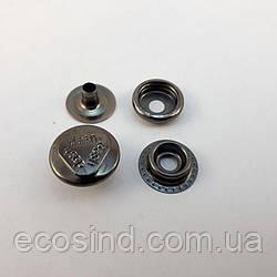Кнопка №61 - 15мм Блэк Никель dash (Киевская) 720шт. (СТРОНГ-0286)