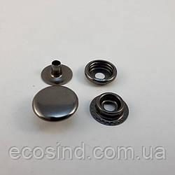 Кнопка №61 - 15мм Блэк Никель (Киевская) 720шт (СТРОНГ-0285)
