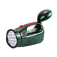Фонарь переносной (фонарь ручной аккумуляторный) YAJIA 2809, 13+9LED