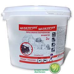 «Щелкунчик» брикеты прессованные 2 кг (ведро), оригинал