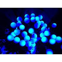 Светодиодная гирлянда на 100 Led Шарики синяя
