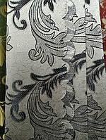 Легка шторна жакардова тканина з люрексовою ниткою, висота-2.80 м (на метраж, в рулонах), фото 2