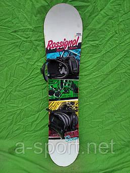 Сноуборд бу Rossignol scan 120 см +  кріплення head