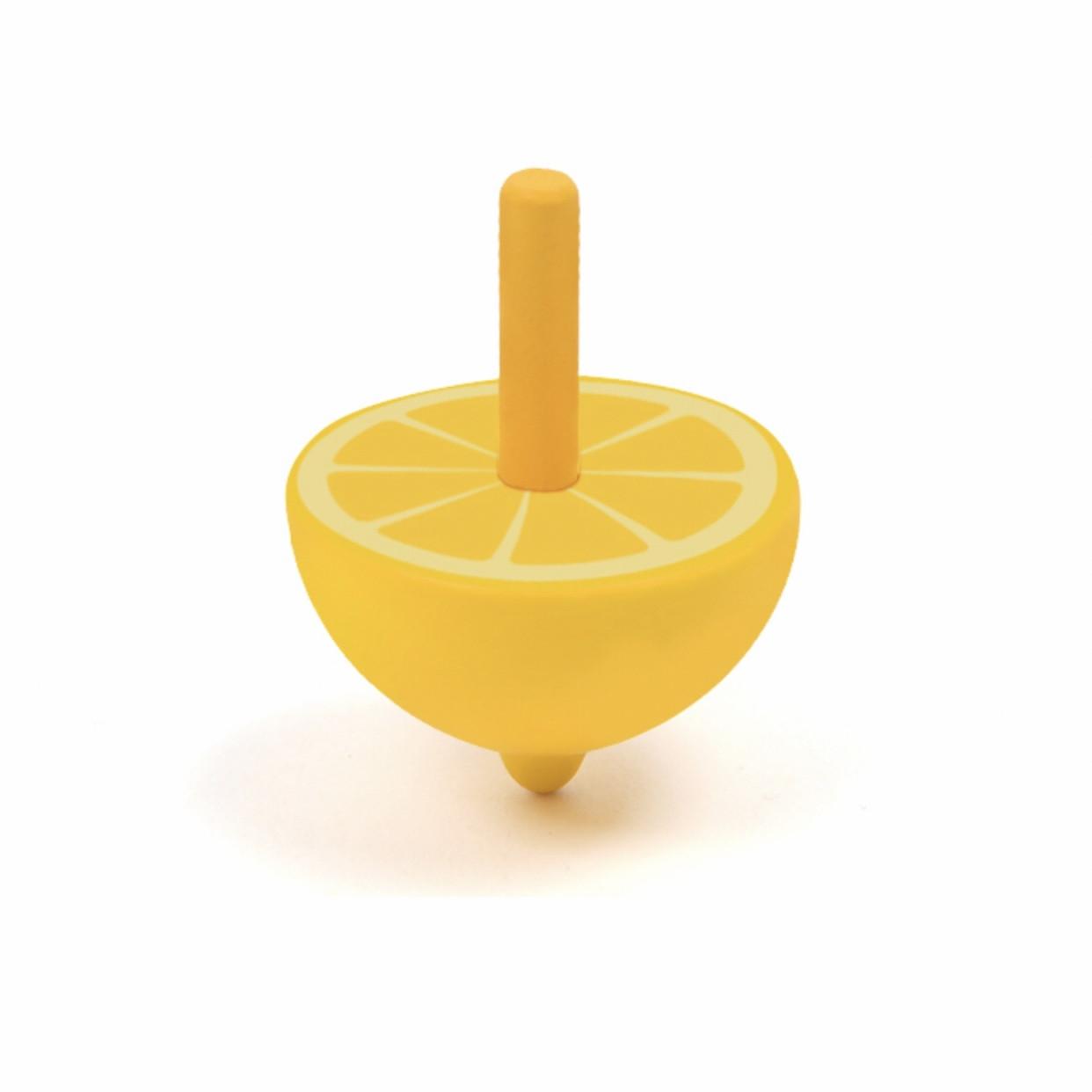 """Деревянный волчок """"Лимон"""" MiDeer Toys"""