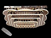 Светодиодная потолочная люстра с хрустальными подвесками с пультом-диммероми B5045-700*500Dimmer, фото 1