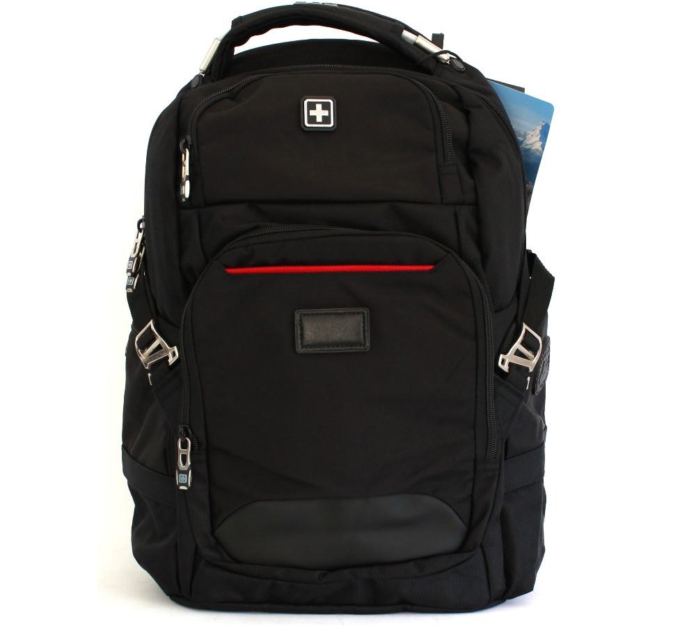 """Рюкзак для ноутбука с USB """"Suissewin"""" 9938"""