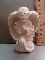 Гипсовая фигурка для раскрашивания статуэтка. Гіпсова фігурка для розмальовування. Ангел в молитве